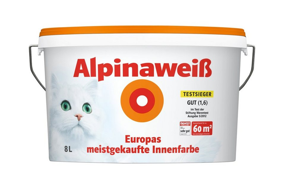 alpina innenfarbe alpinawei 8l online kaufen otto. Black Bedroom Furniture Sets. Home Design Ideas