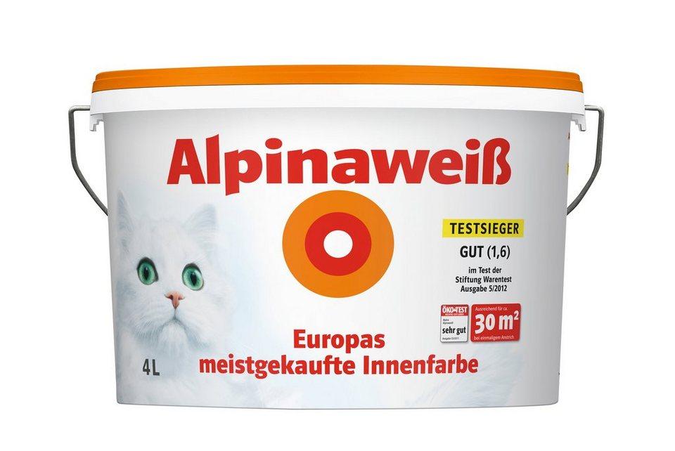 Innenfarbe »Alpinaweiß, 4L« in weiß