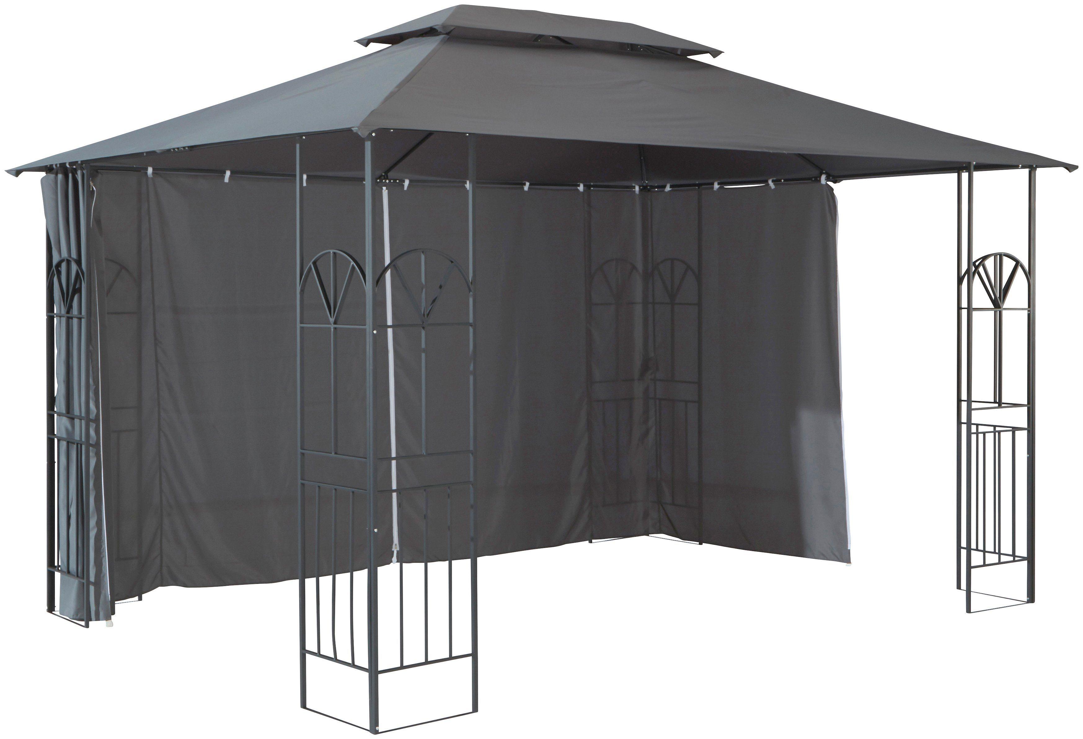 Seitenteile für Pavillon »Alu«, anthrazit   Garten > Pavillons   Polyester