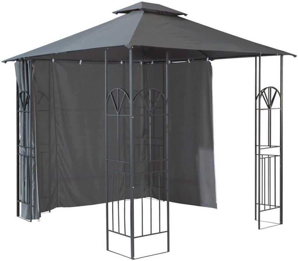 seitenteile f r pavillon alu anthrazit kaufen otto. Black Bedroom Furniture Sets. Home Design Ideas