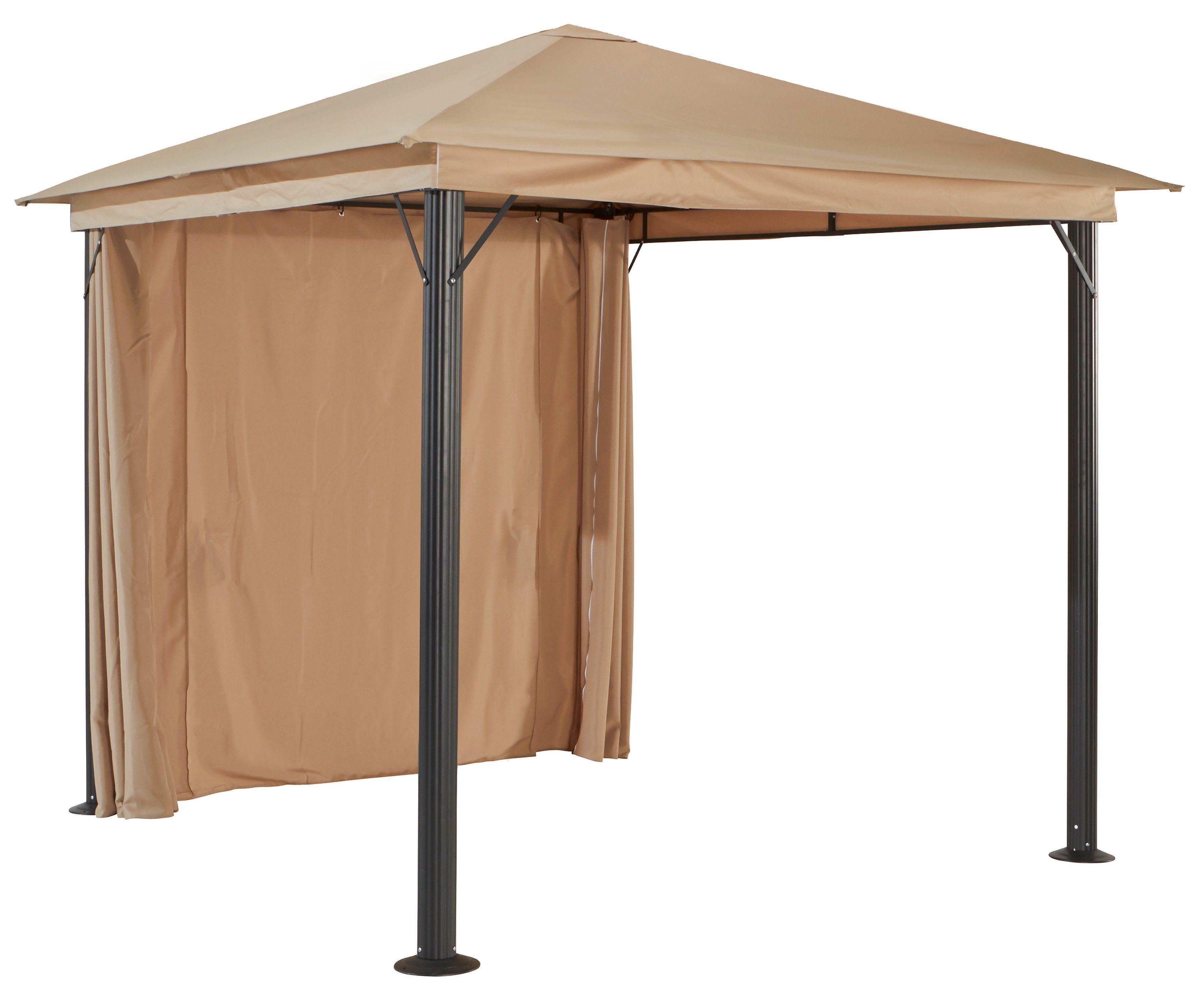 Seitenteile für Pavillon »Verona«, sandfarben