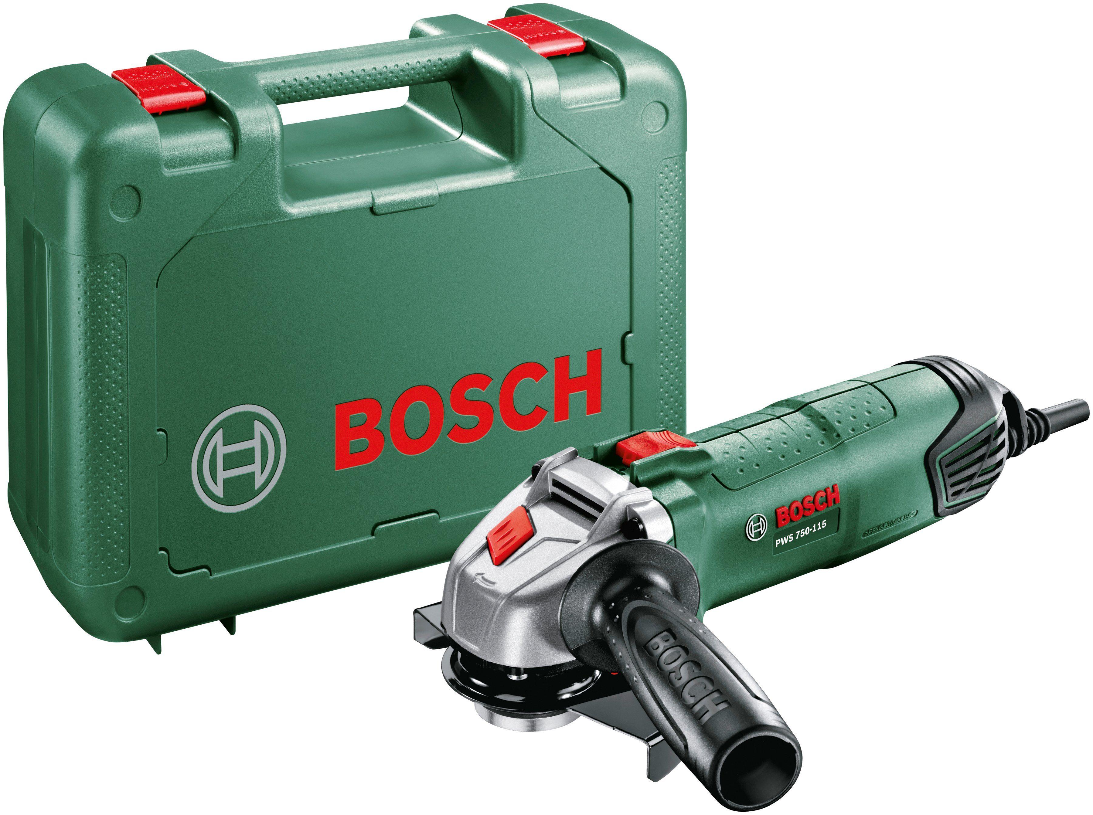 Bosch Winkelschleifer »PWS 750-115«