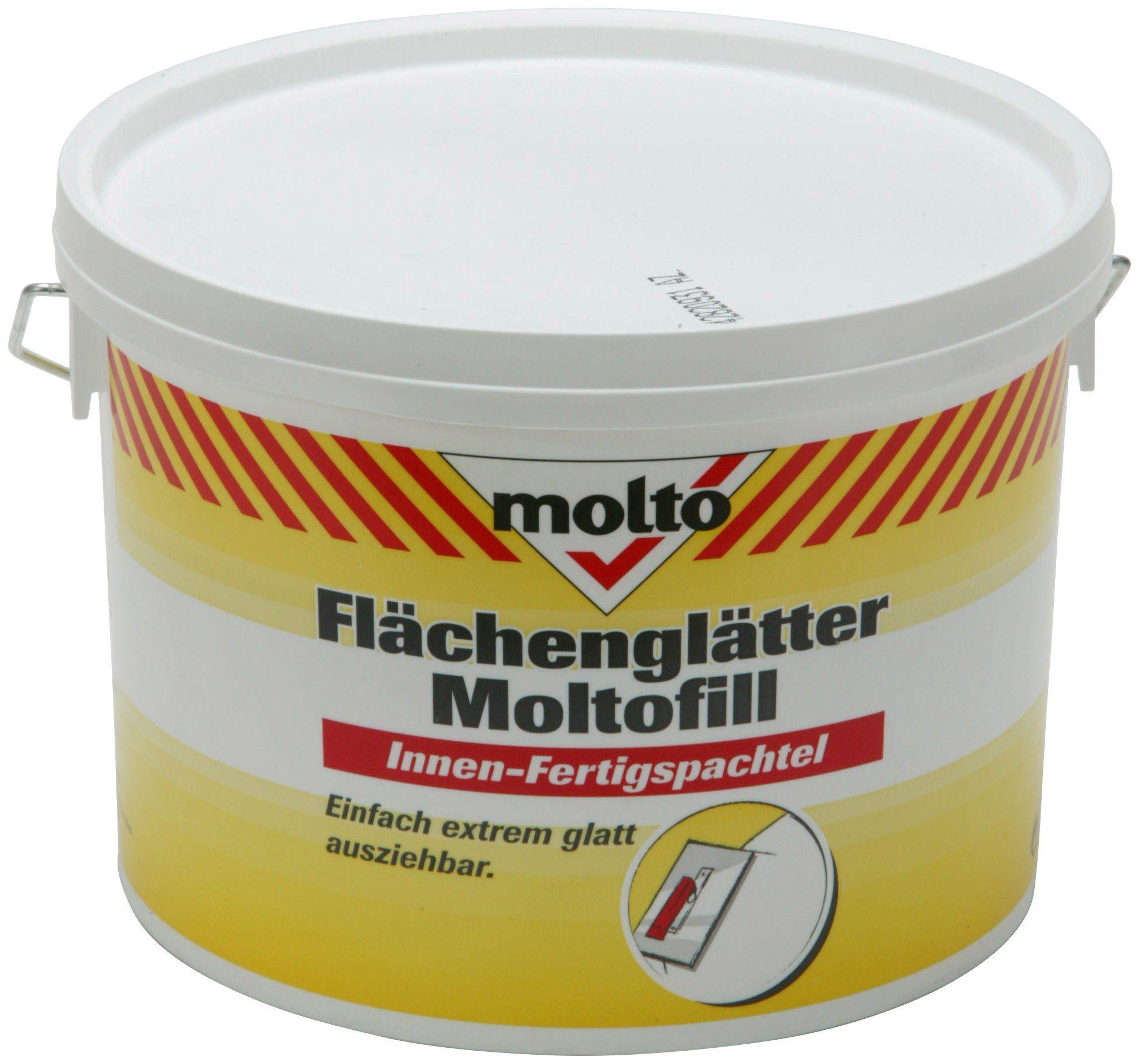 MOLTO Fertigspachtel »Flächenglätter Moltofill«, weiß, 5 kg