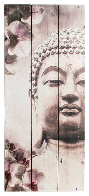 Holzbild »Buddah«