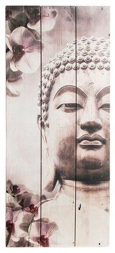 GRAHAM & BROWN Holzbild »Buddah«, (B/H): 30 x 70 cm