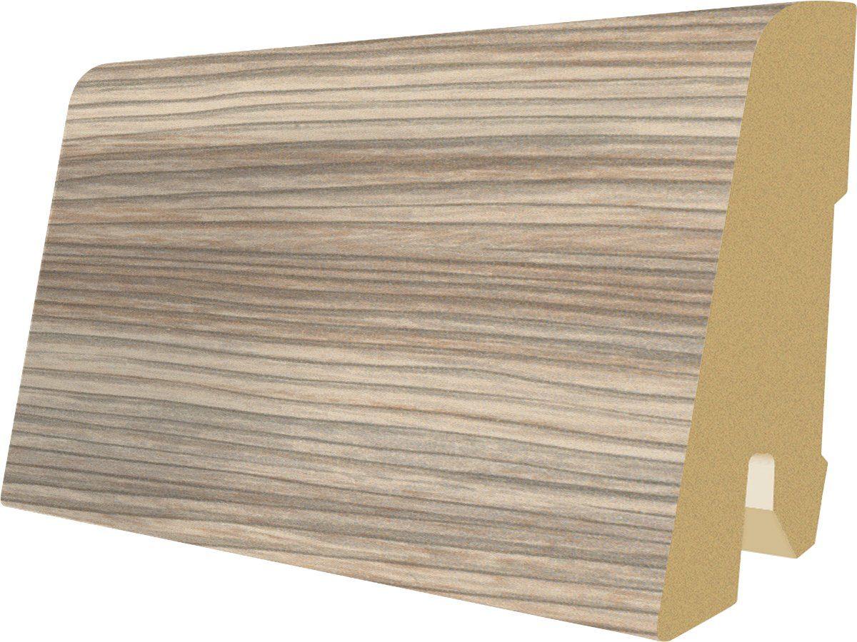 MEGAFLOOR Sockelleiste »Megafloor M2 Large, Aland Kiefer rauch«, (5 Stk.)