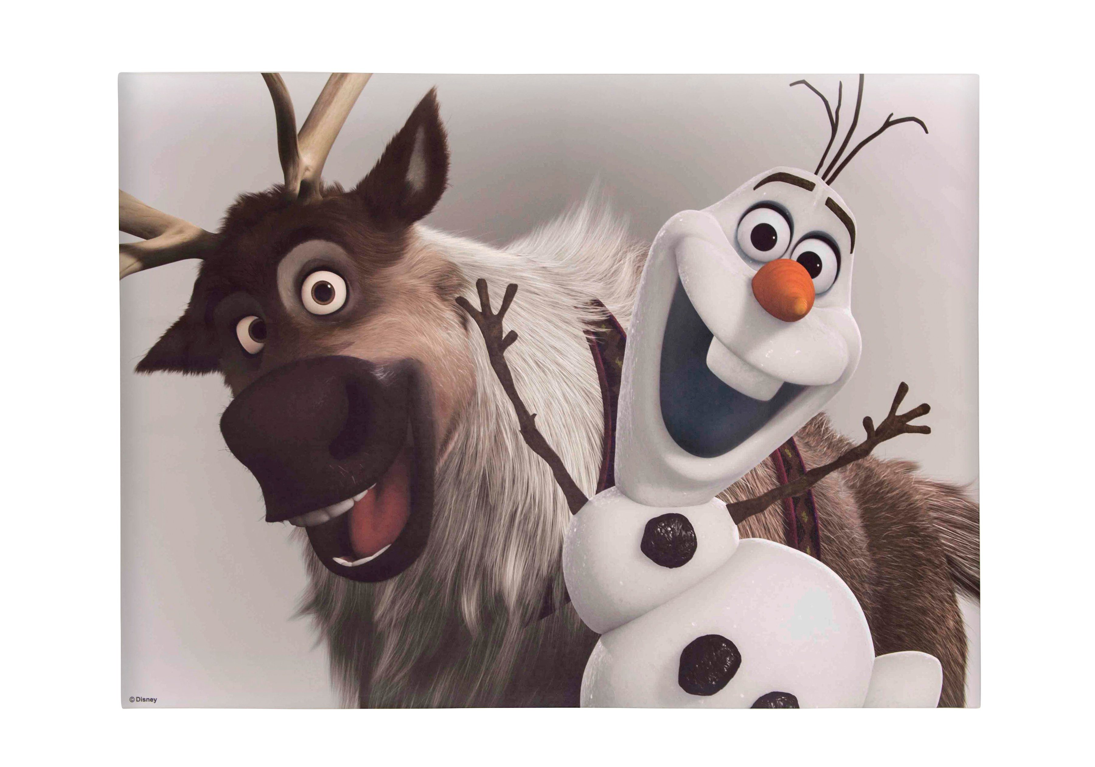 Graham & Brown Leinwandbild »Eiskönigin - Olaf und Sven«