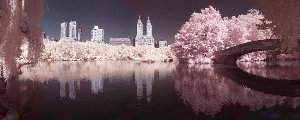 Leinwandbild »Central Park« in bunt