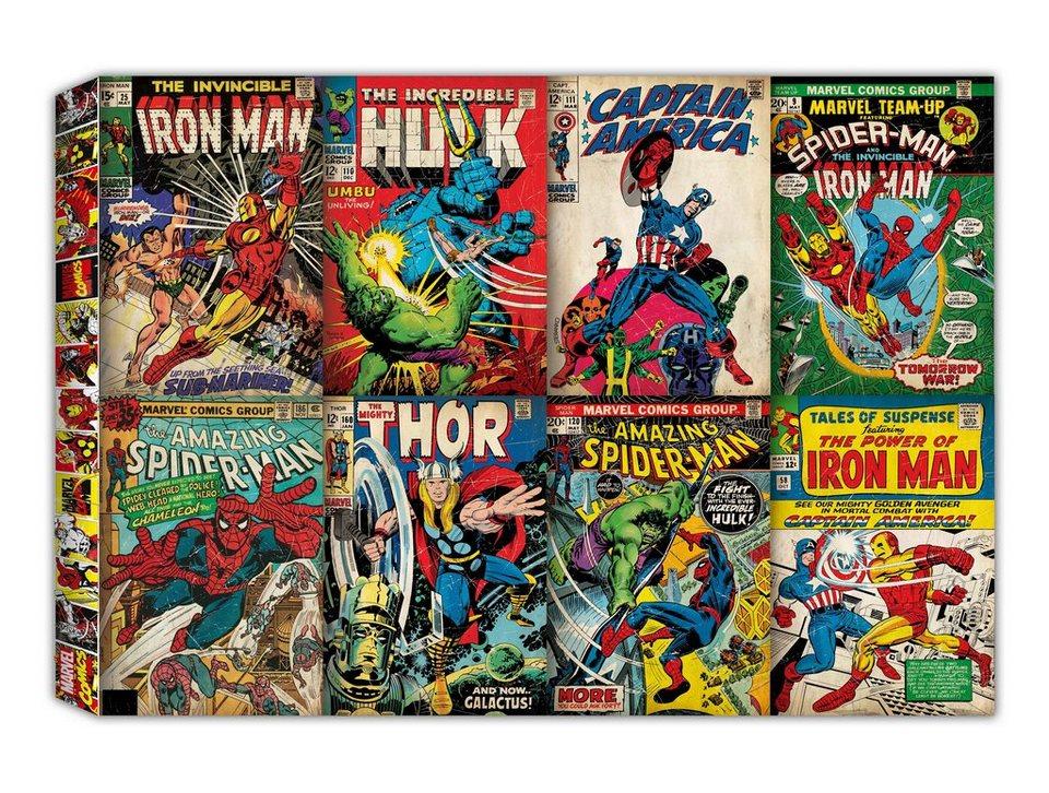 Leinwandbild »Comic Kollektion« in bunt