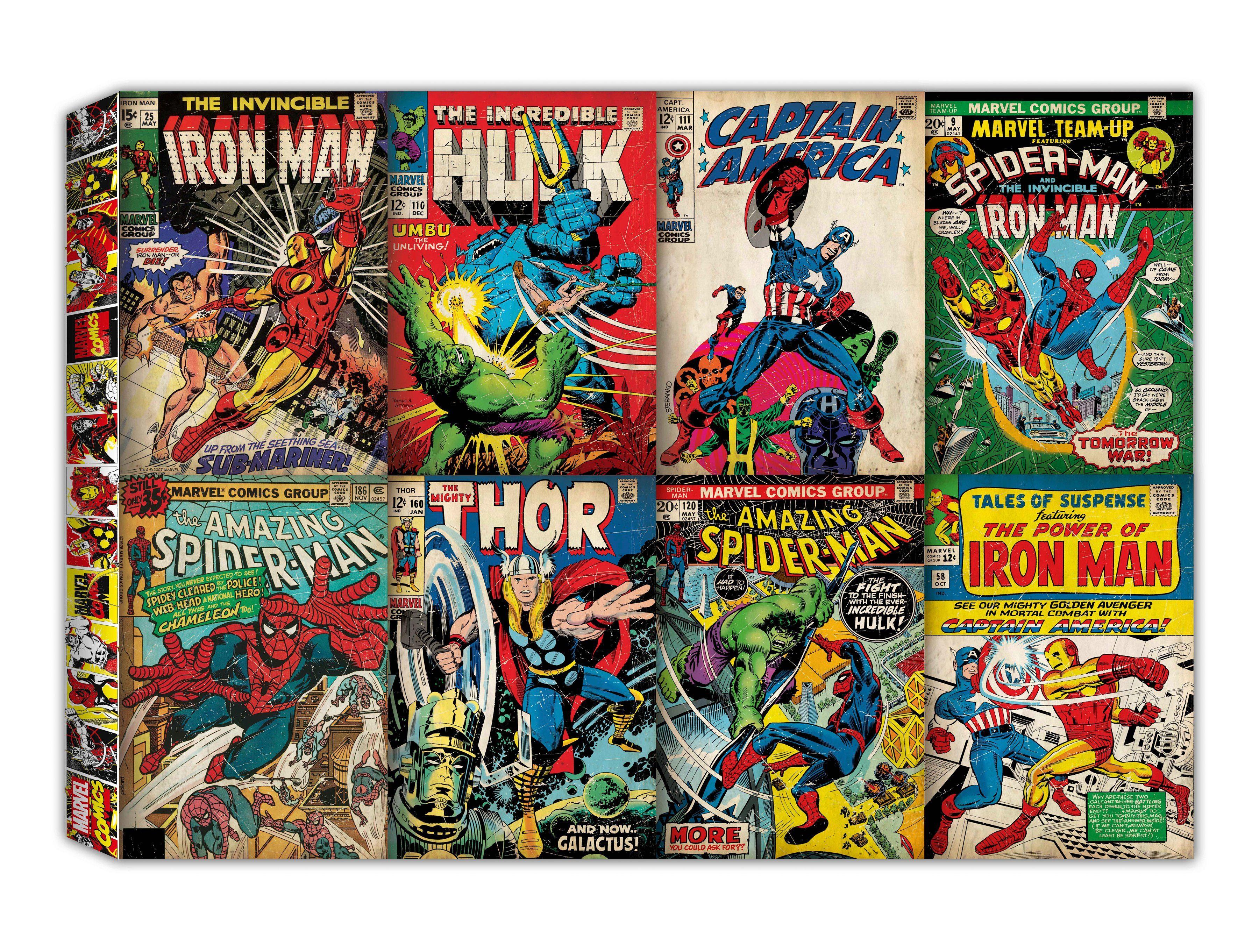 Leinwandbild »Comic Kollektion«