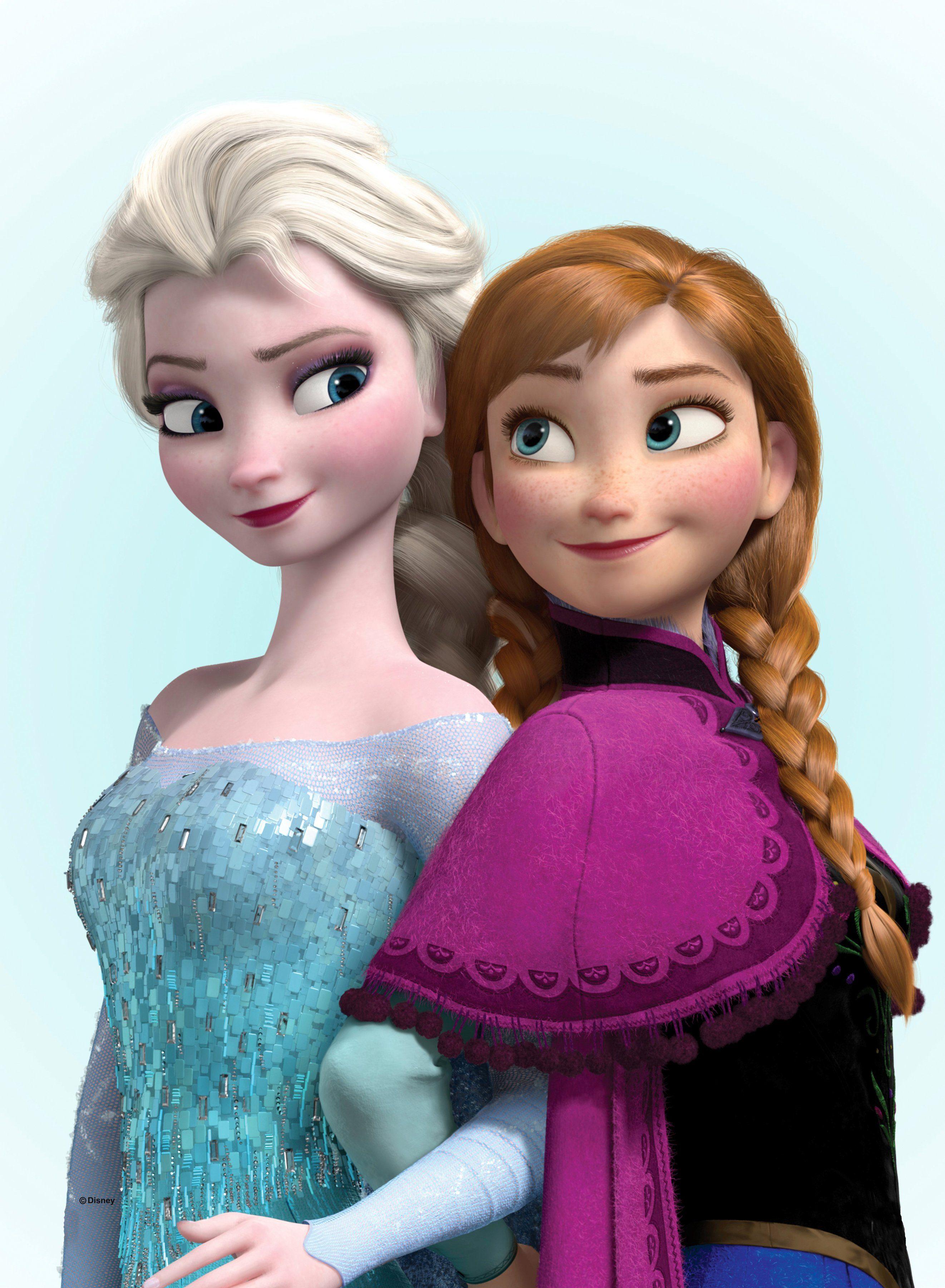 Graham & Brown Leinwandbild »Eiskönigin - Elsa und Anna«