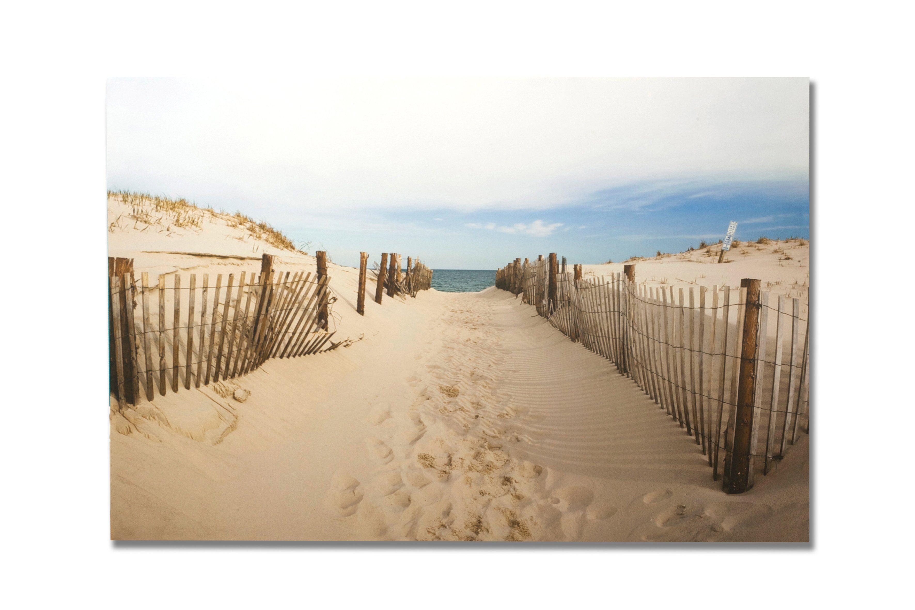Leinwandbild »Strandweg«