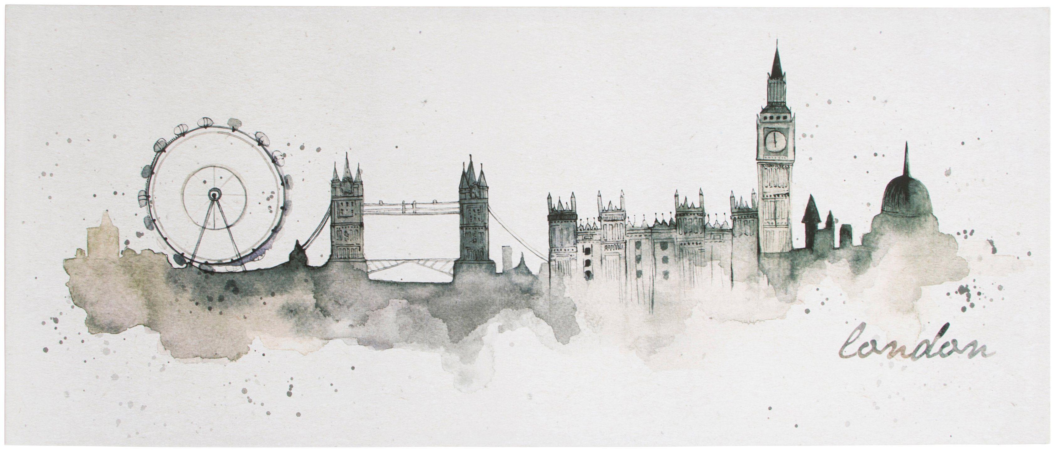 Graham & Brown Leinwand »London«