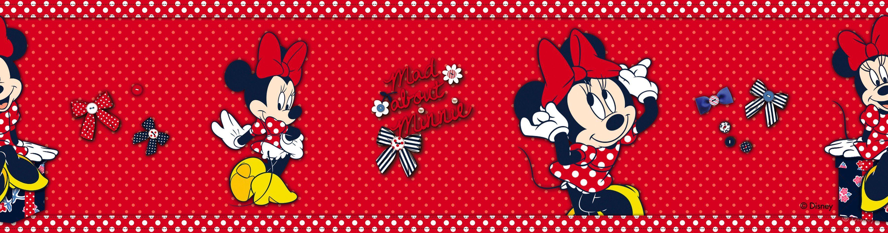 Graham & Brown Bordüre »Minnie Mouse«