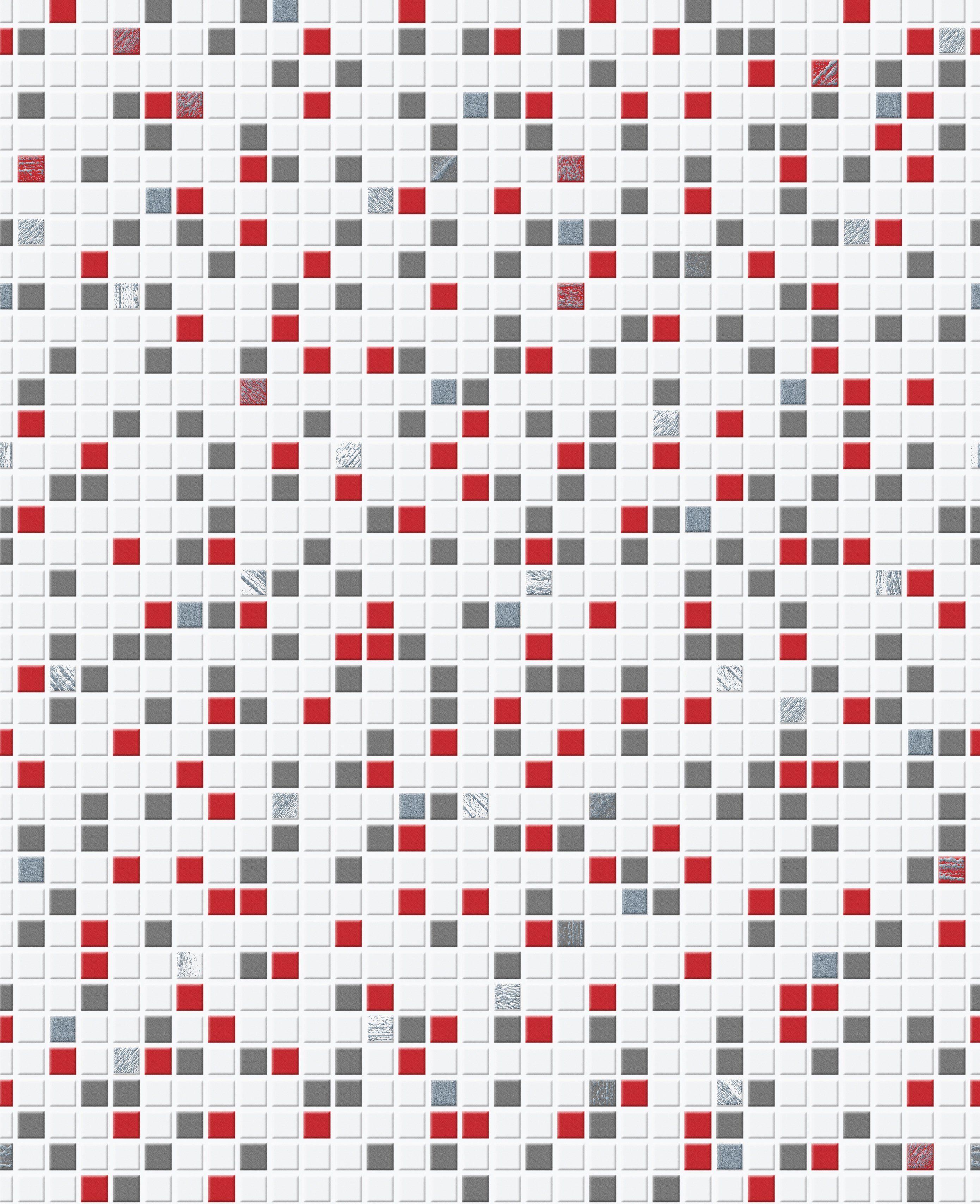 Papiertapete »Checker bunt«