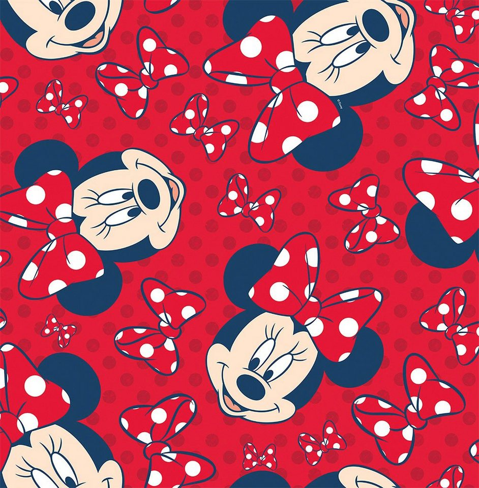Papiertapete »Minnie Mouse« in rot