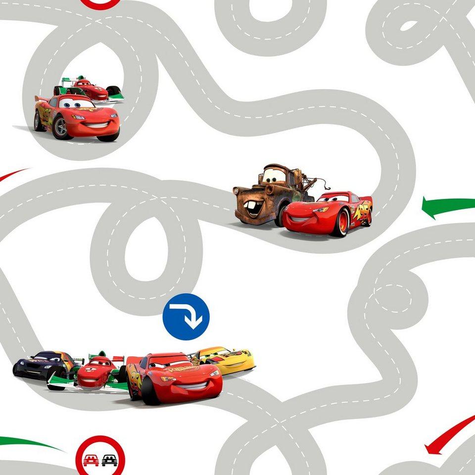 Papiertapete »Cars« in bunt