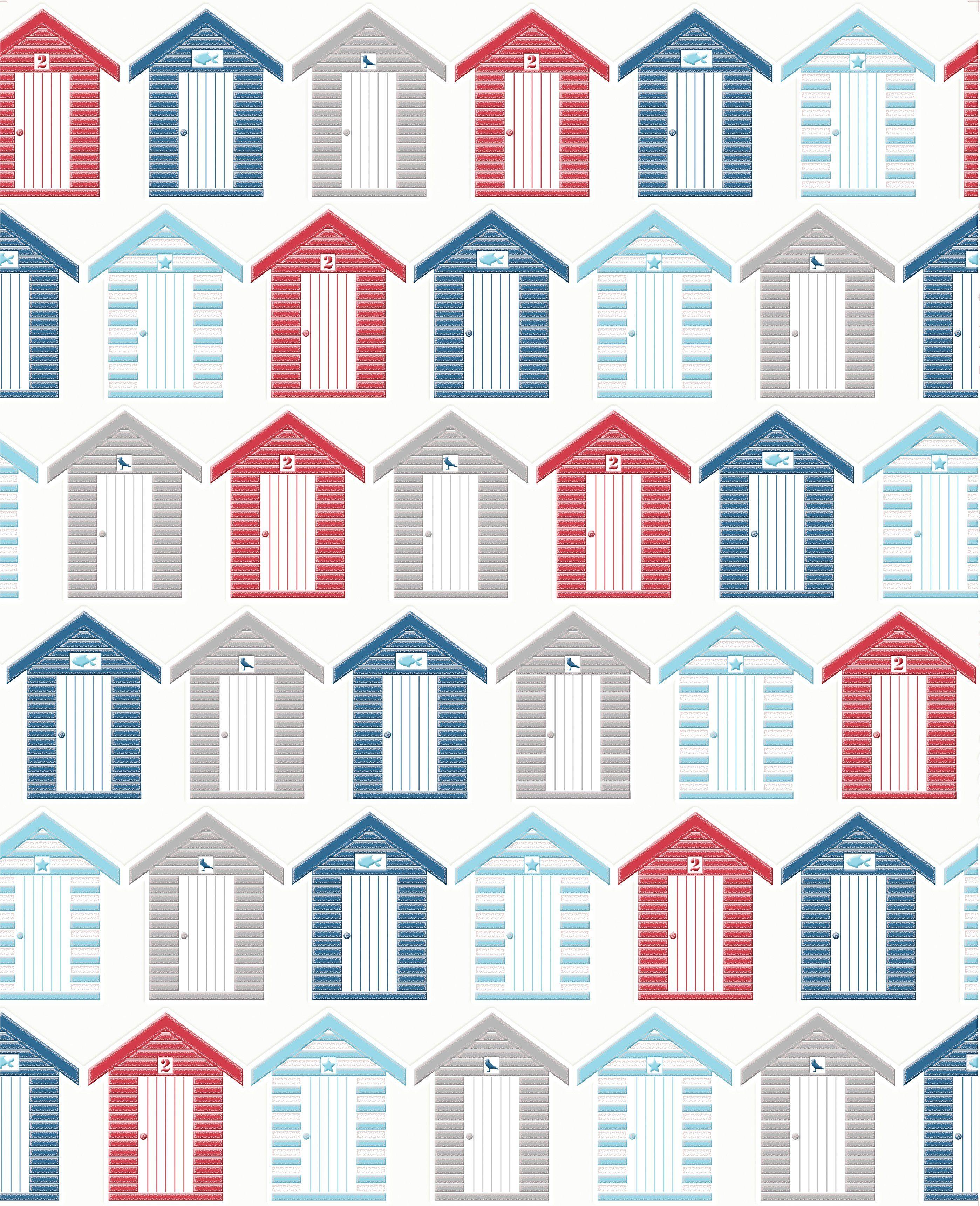 GRAHAM & BROWN Papiertapete »Strandhäuser«