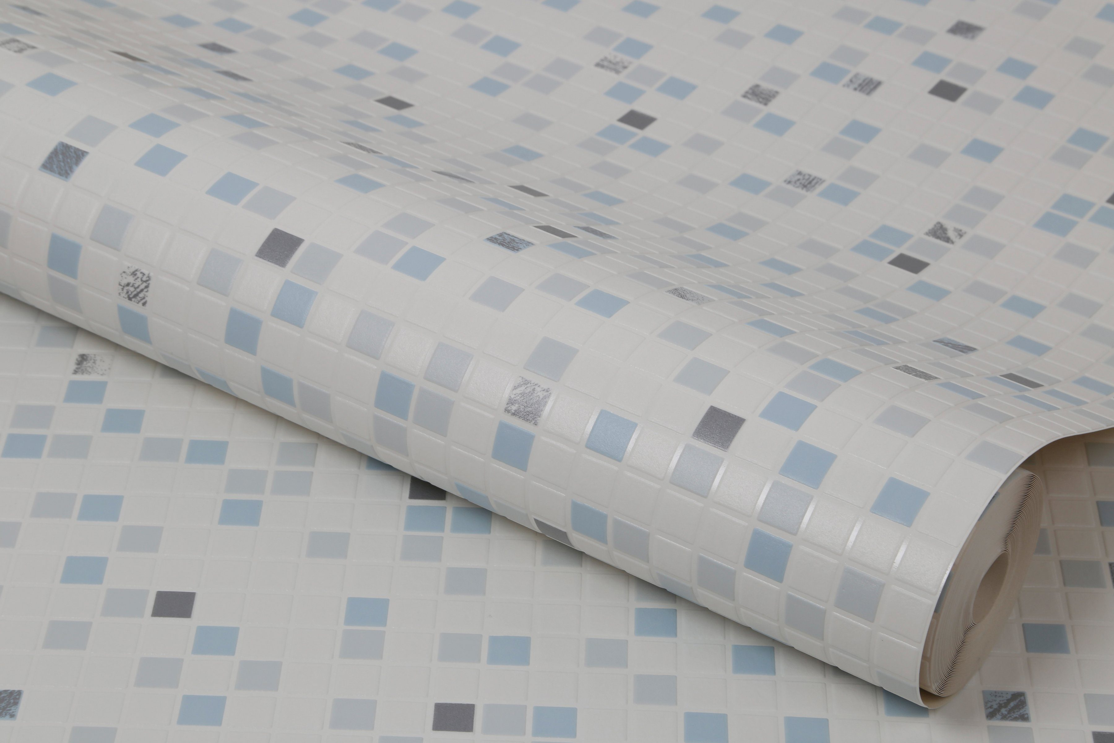 GRAHAM & BROWN Papiertapete »Checker Wasser«