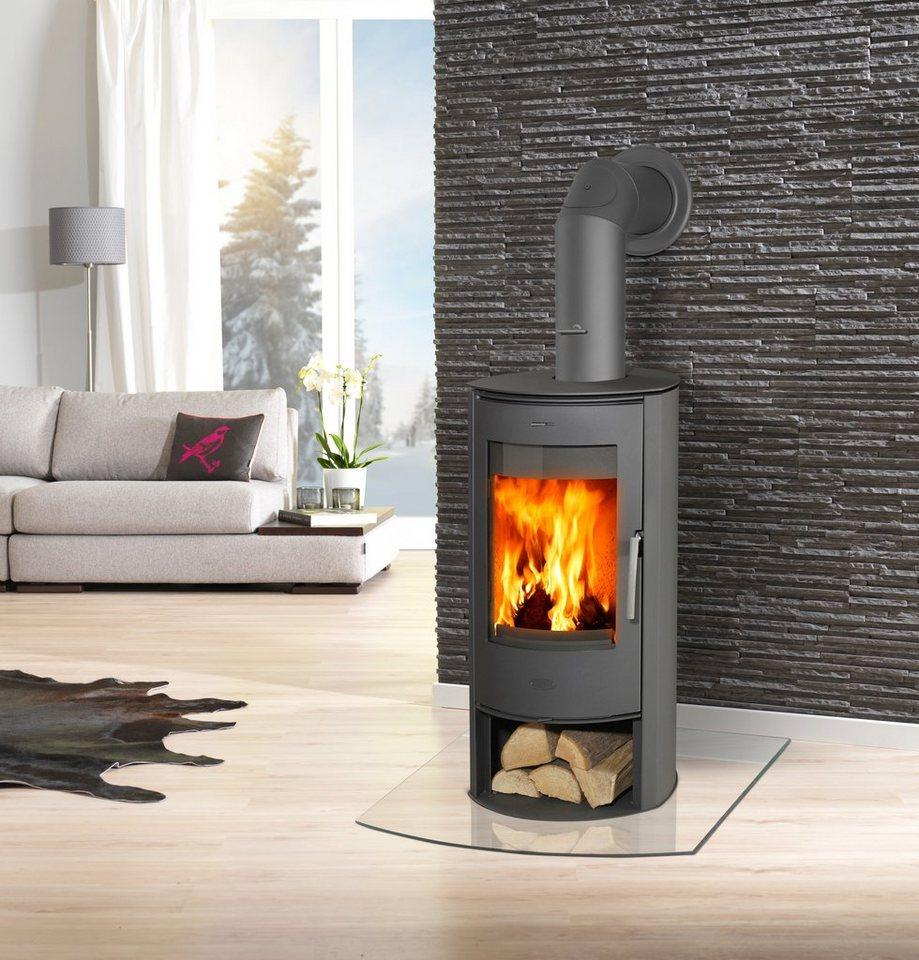 fireplace kaminofen zanzibar stahl 5 kw parabolische. Black Bedroom Furniture Sets. Home Design Ideas