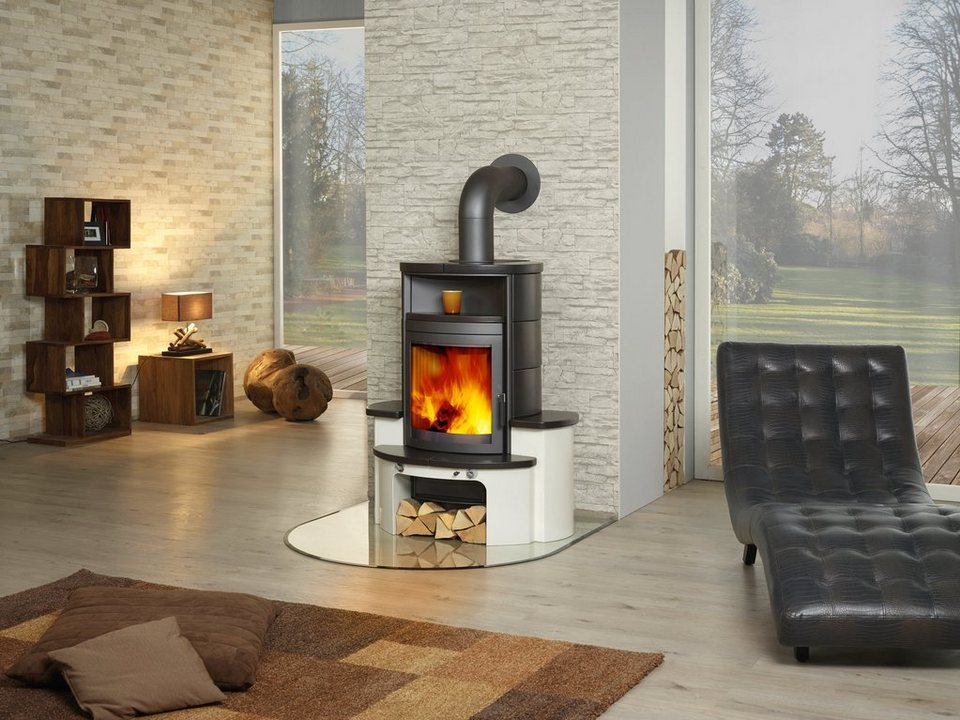hark kaminofen avenso kachel negro 7 kw dauerbrand. Black Bedroom Furniture Sets. Home Design Ideas