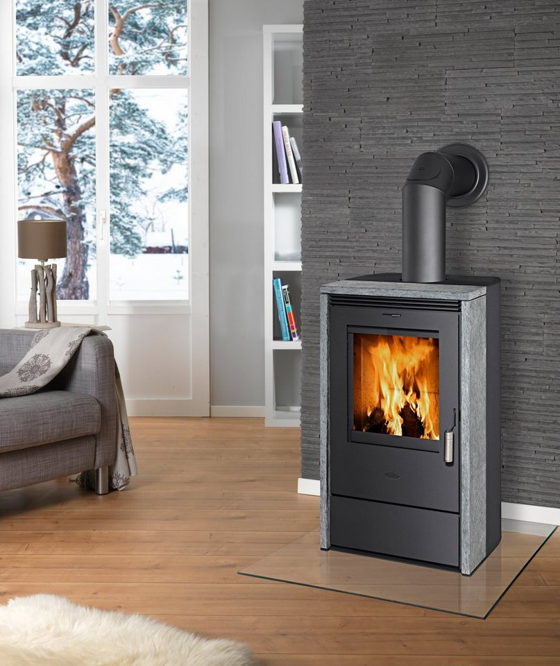 fireplace kaminofen madrid 2014 naturstein 6 kw dauerbrand automatik online kaufen otto. Black Bedroom Furniture Sets. Home Design Ideas