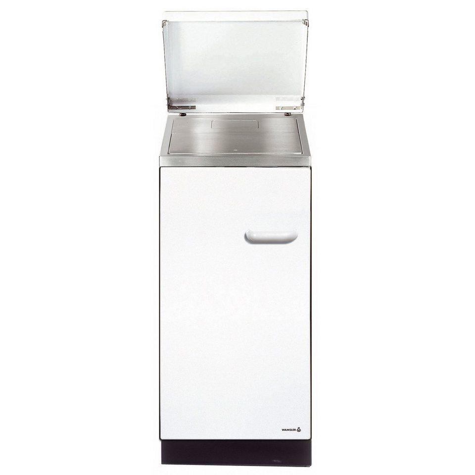 Festbrennstoffherd »K144« 5 kW, Dauerbrand in weiß