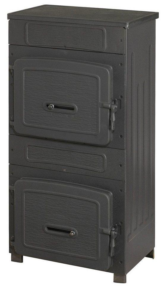 Werkstattofen »109-8«, Gusseisen& Stahl, 8 kW, Gusstüren in schwarz