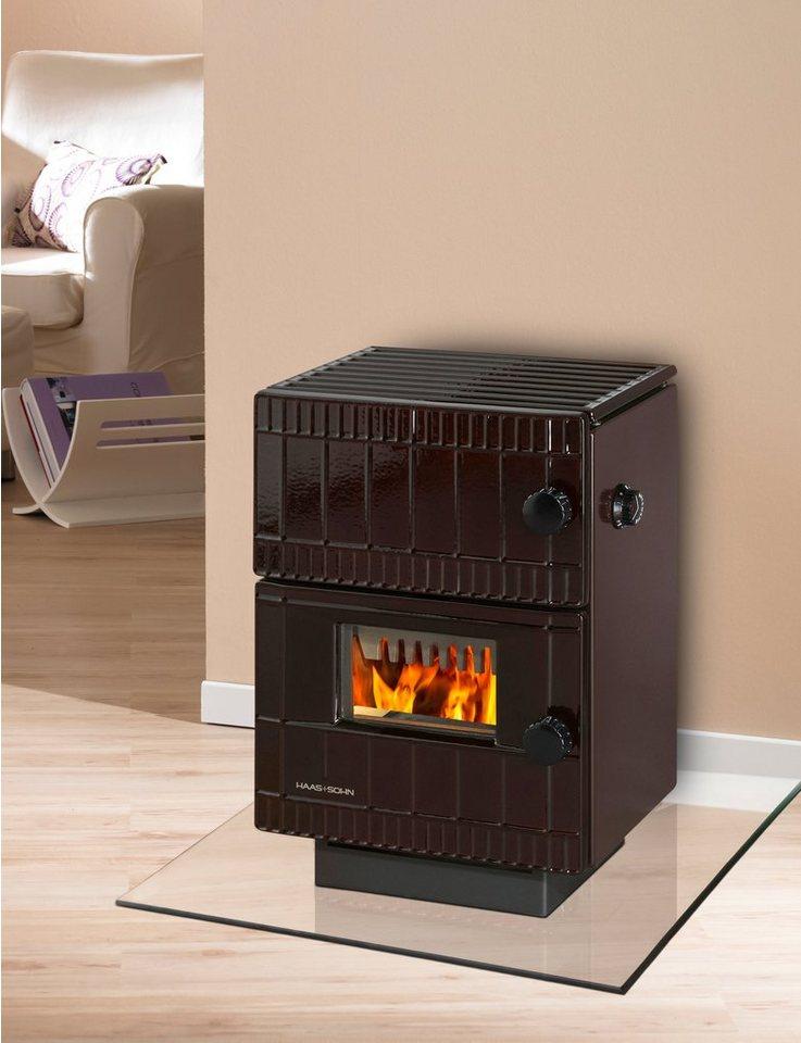 haas sohn kaminofen bernau stahl 4 5 kw dauerbrand gusskorpus online kaufen otto. Black Bedroom Furniture Sets. Home Design Ideas