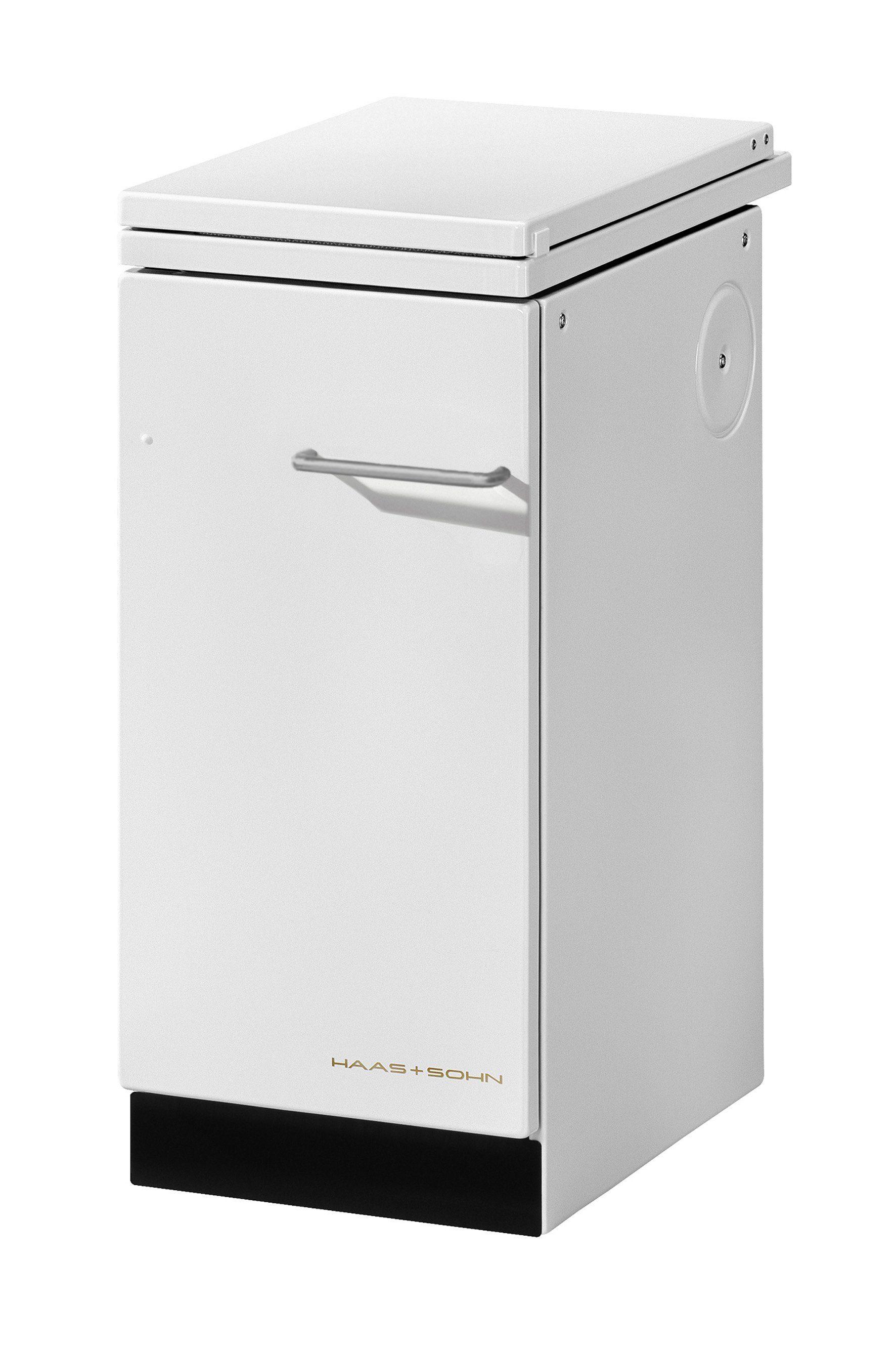 Festbrennstoffherd »HA 40.5 A«, Stahl weiß, 6 kW, Dauerbrand, Kochfeld