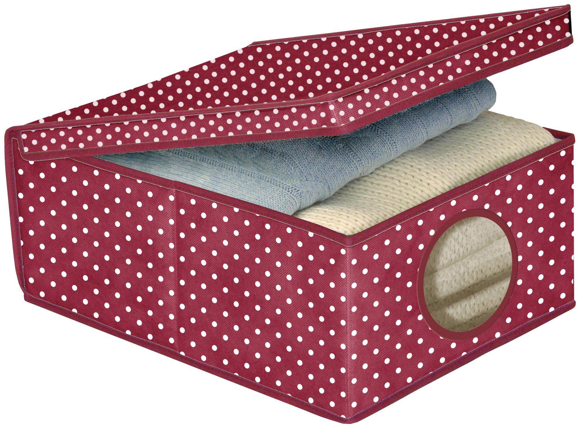 Wäschebox »Vino, Größe M«, Mit Sichtfenster