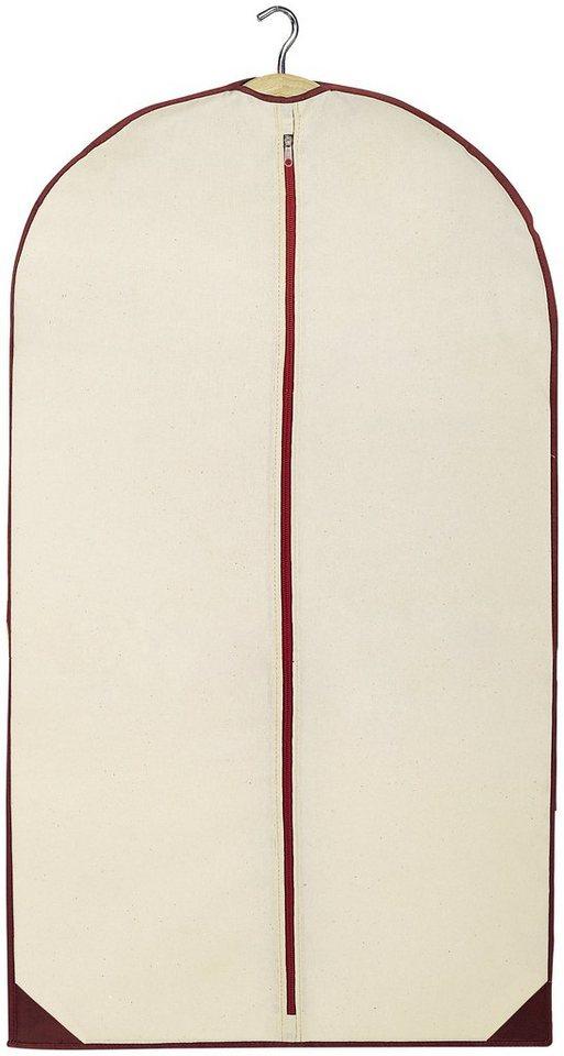 Kleidersack »Wood«, Größe L, 2er-Set in beige