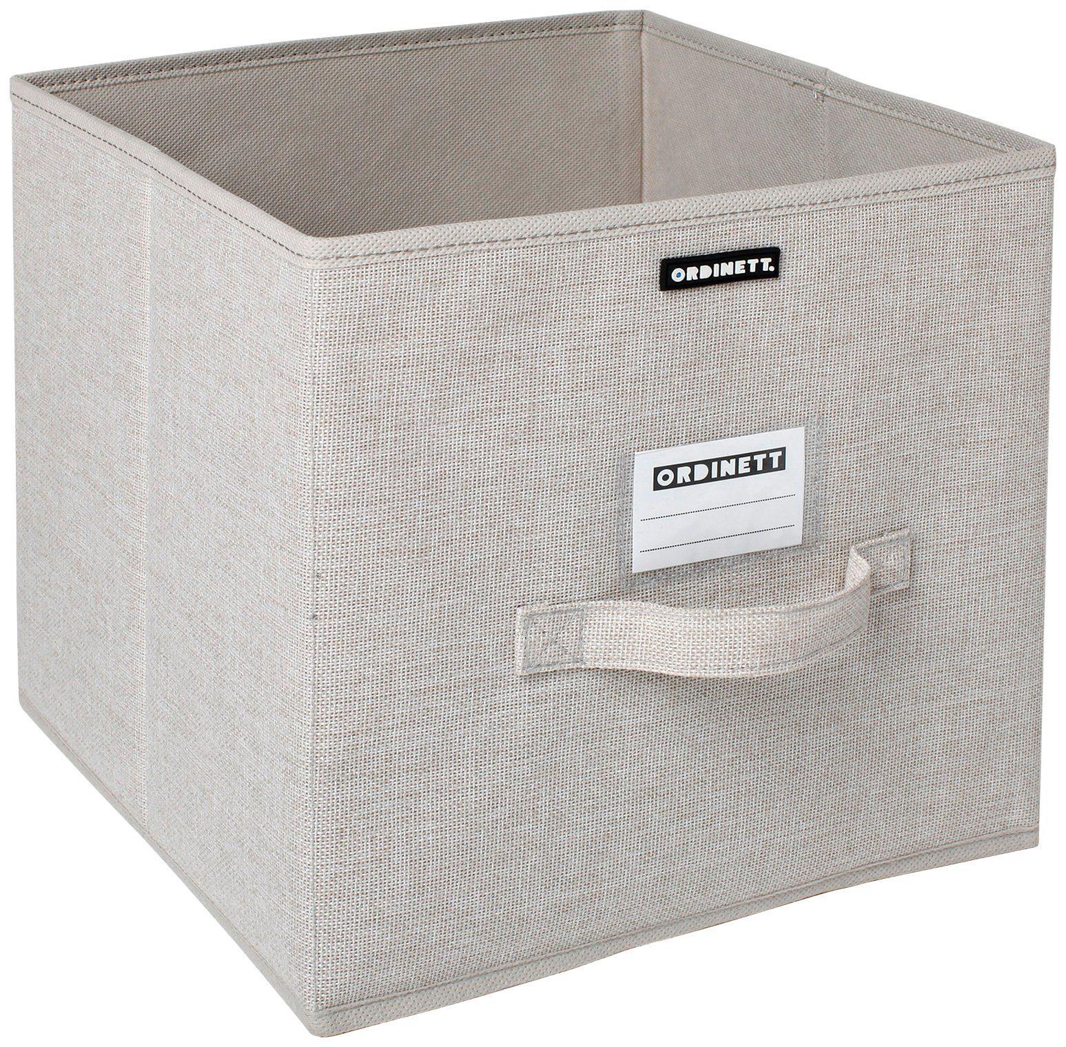 Aufbewahrungsbox »Linette«, groß, 28,5x28,5x28,5 cm