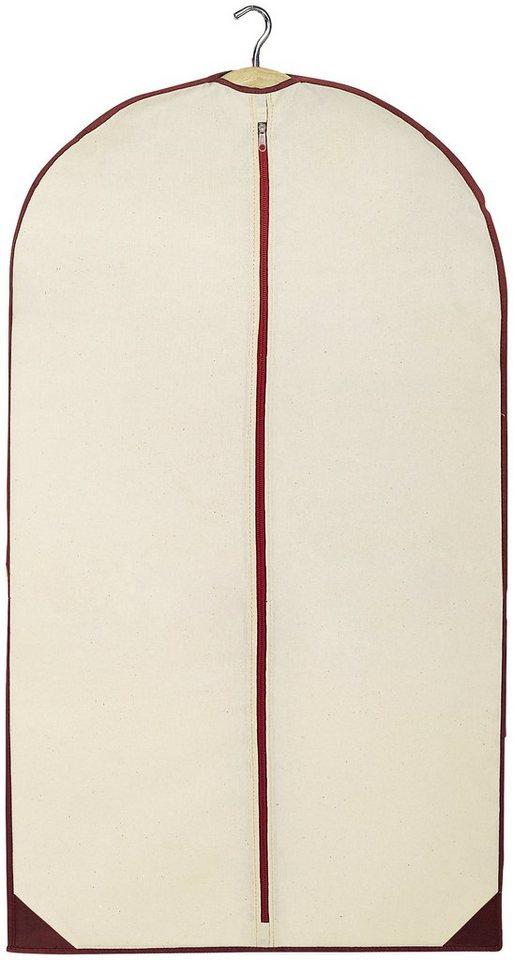 Kleidersack »Wood«, Größe M, 2er-Set in beige
