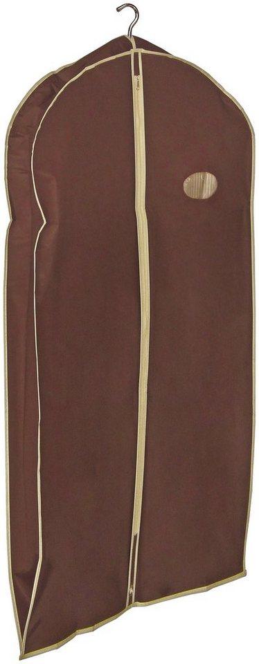 Kleidersack »Choco«, Größe L, 2er-Set in braun