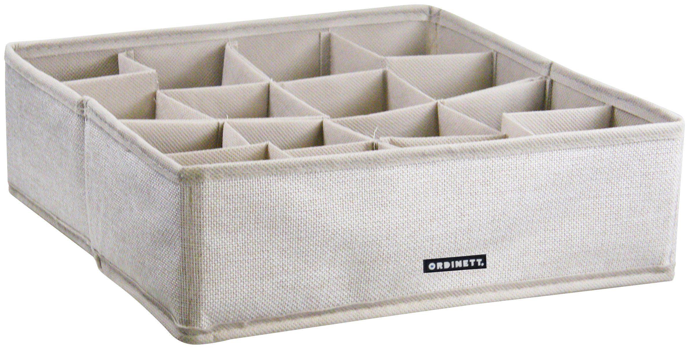 Aufbewahrungsbox »Linette Ordnungshelfer Schubfach, 30,5x30,5x10 cm, 2er-Set«