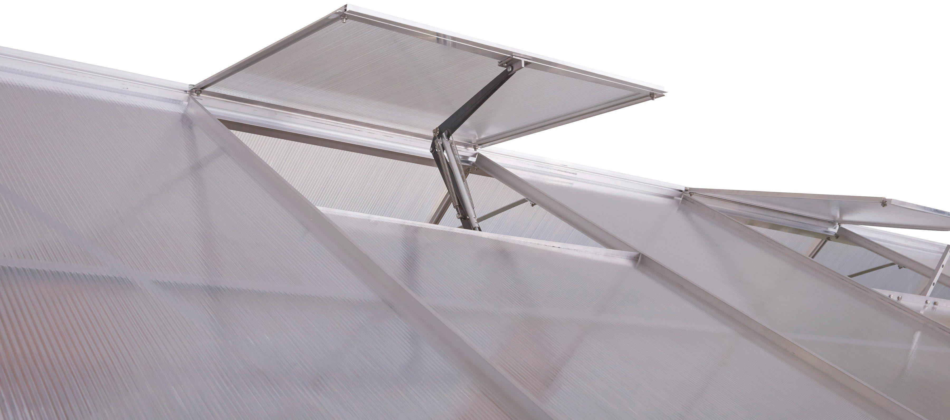 KONIFERA Automatischer Fensteröffner , für Gewächshäuser von Konifera, silber-schwarz