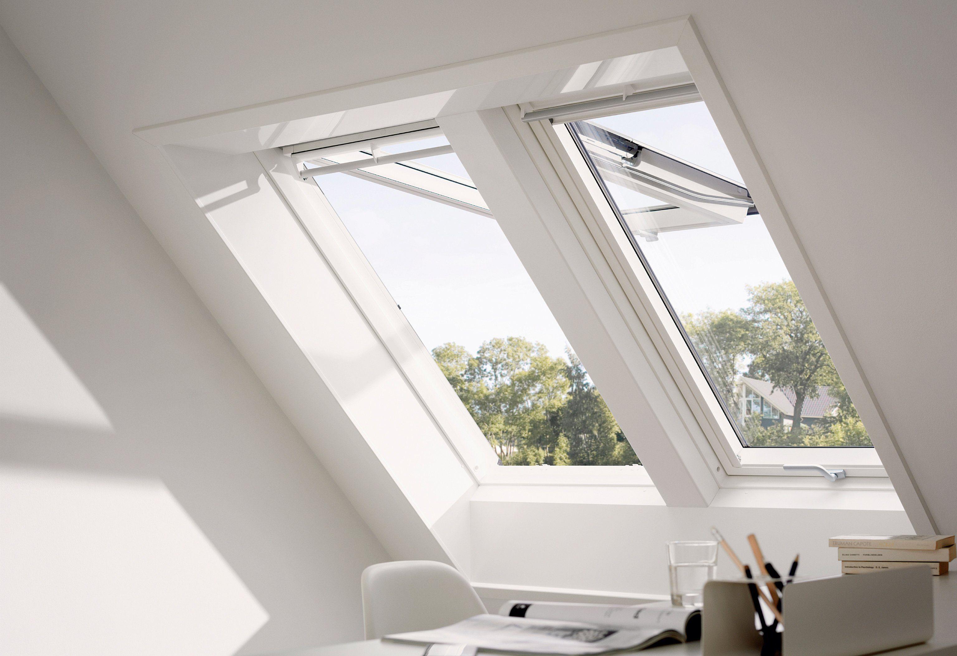 VELUX Dachfenster »GPU SK06«, BxH: 114x118 cm, weiß