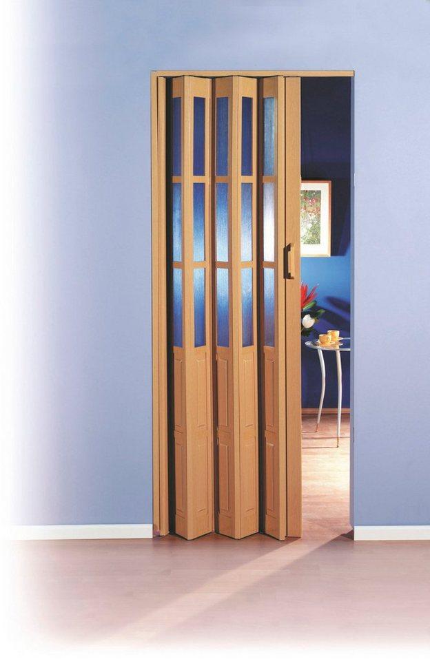 kunststoff faltt r b bis 100 cm eichefarben hell. Black Bedroom Furniture Sets. Home Design Ideas
