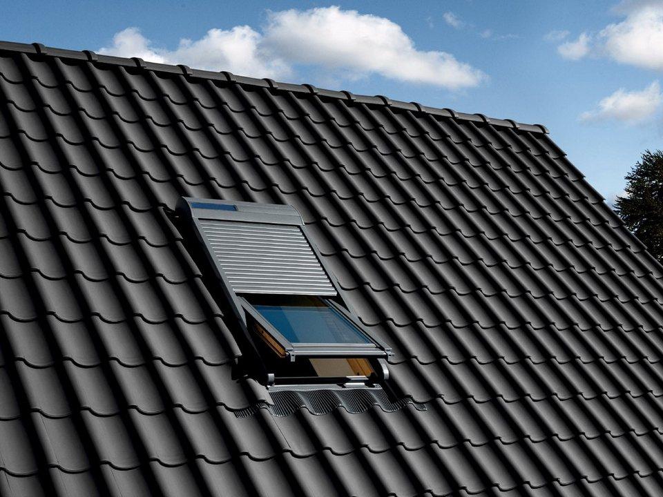 velux solar rollladen ssl mk04 m04 304 in anthrazit online kaufen otto. Black Bedroom Furniture Sets. Home Design Ideas