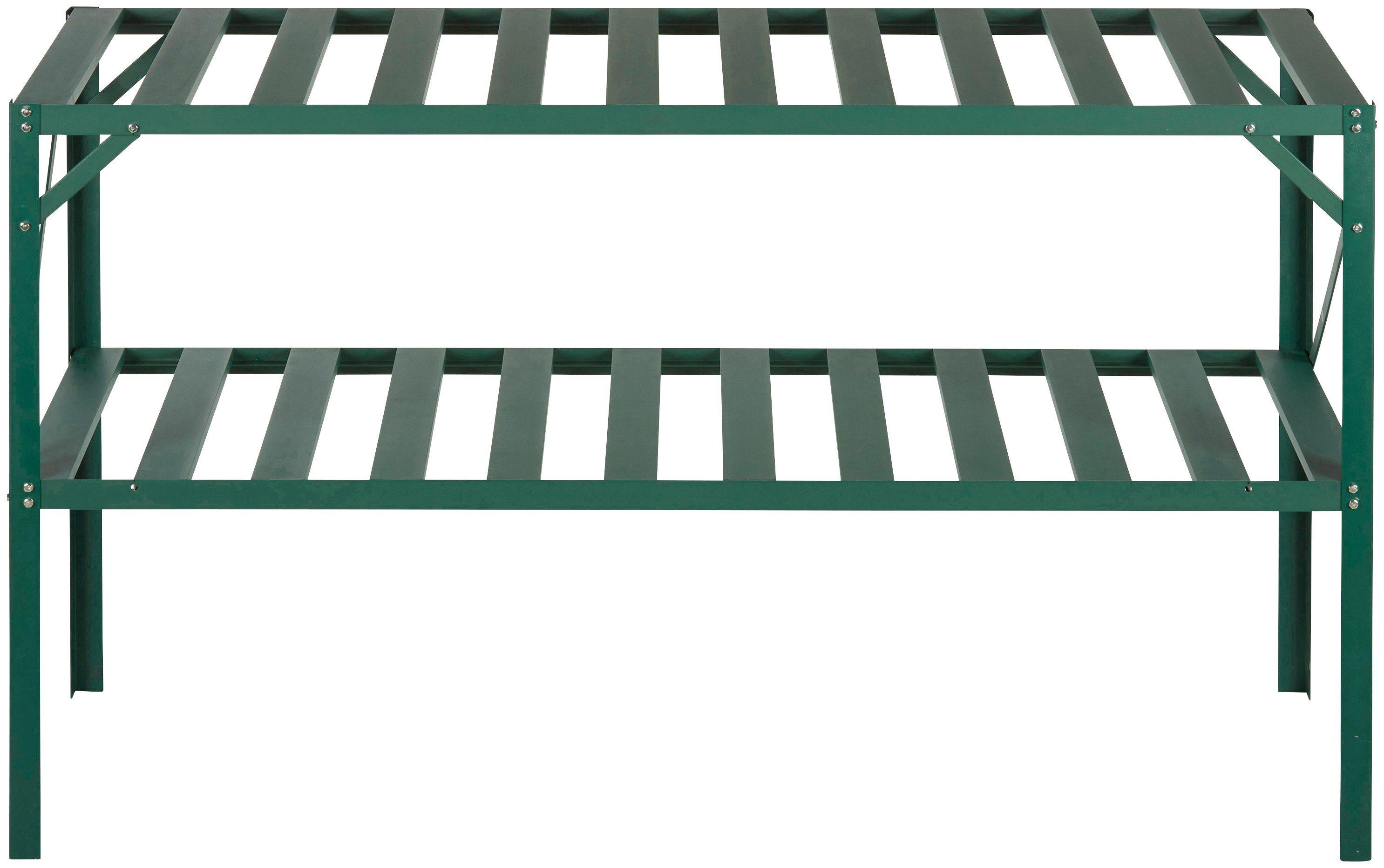 KONIFERA Pflanztisch , BxTxH: 126x50x75 cm, Inkl. Fensteröffner, grün