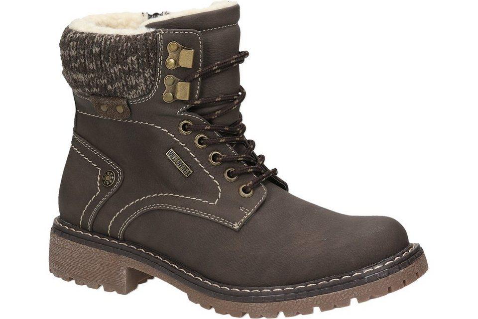 Woodstone Boot in dunkelbraun