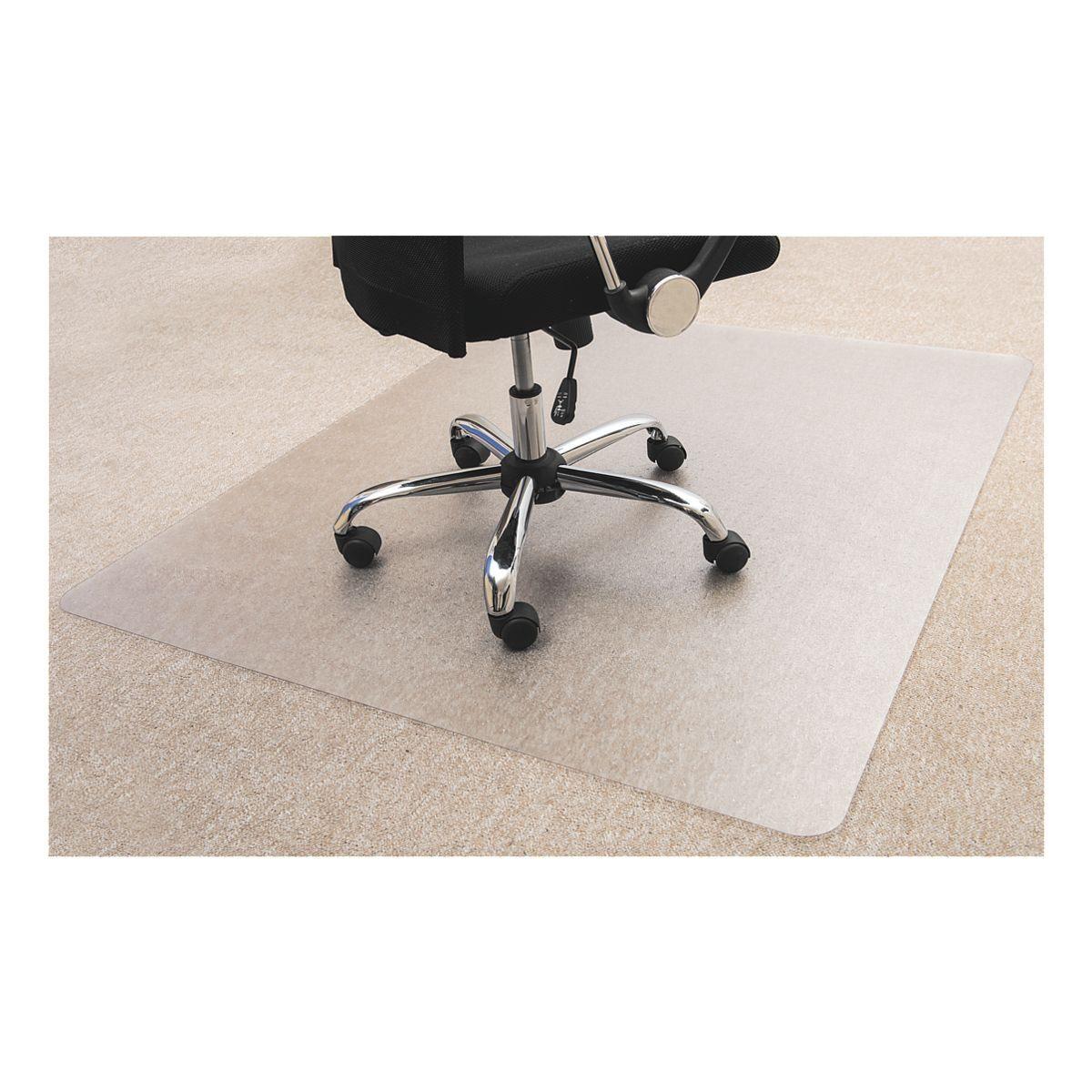 OTTOOFFICE BUDGET Bodenschutzmatte 120x130 cm, rechteckig, für Teppichboden