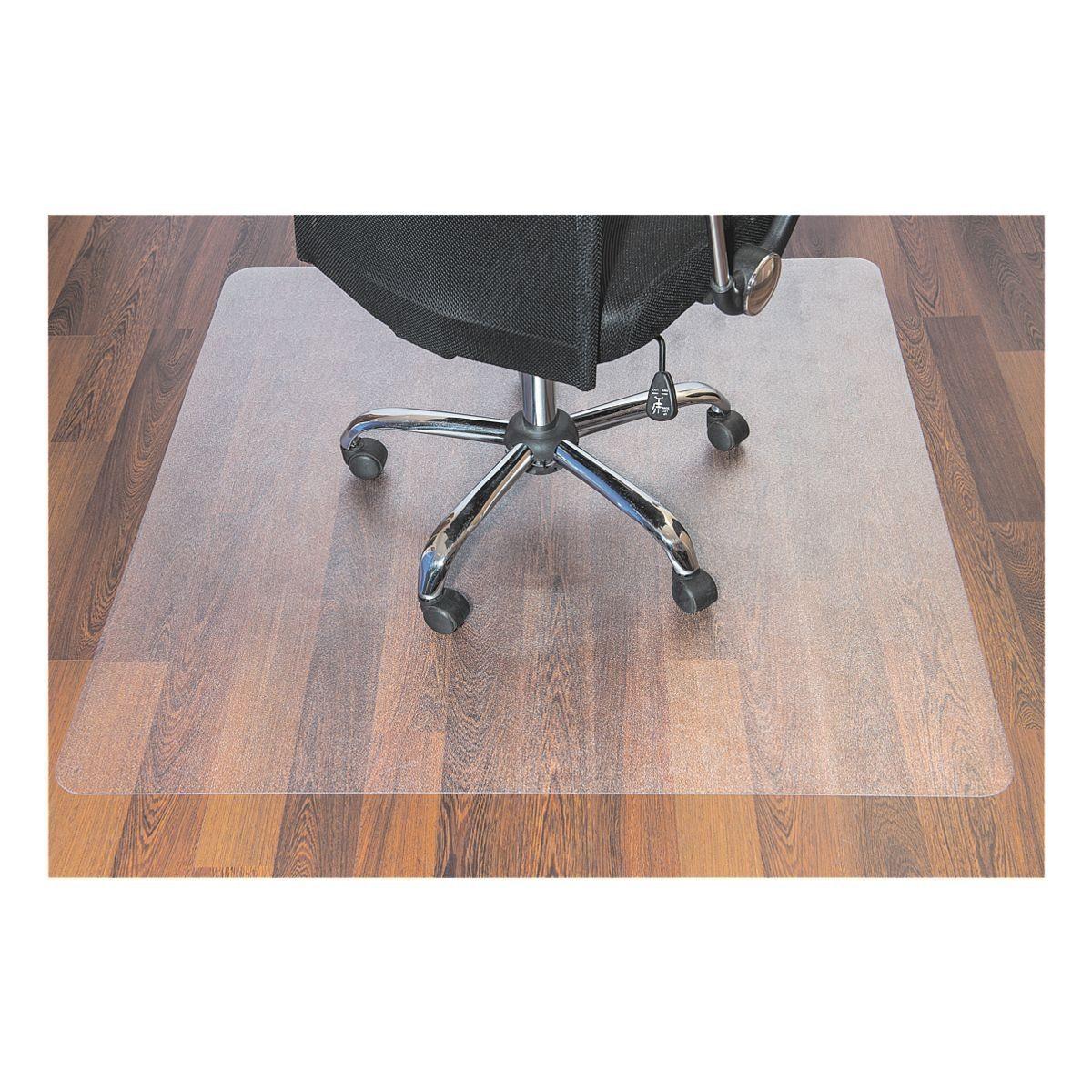 OTTOOFFICE BUDGET Bodenschutzmatte 120x130 cm, rechteckig, für Hartboden