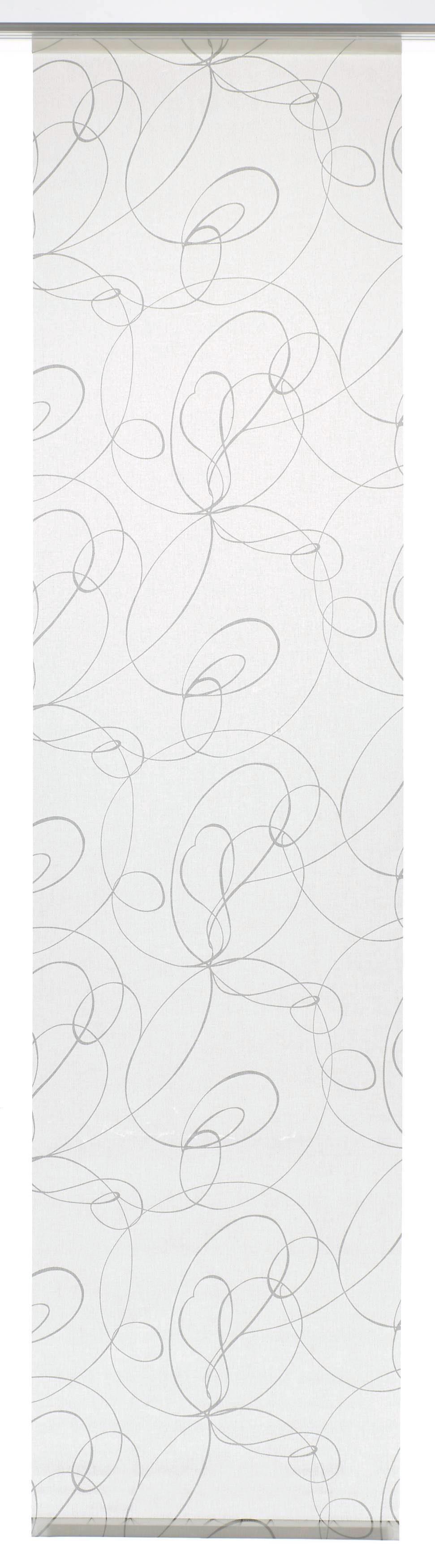 Schiebegardine, Gardinia, »Curling«, mit Klettband, waschbar (1 Stück mit Zubehör)