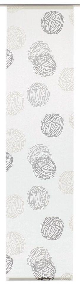 schiebegardine gardinia kn uel mit klettband waschbar 60 cm breit 1 st ck ohne zubeh r. Black Bedroom Furniture Sets. Home Design Ideas