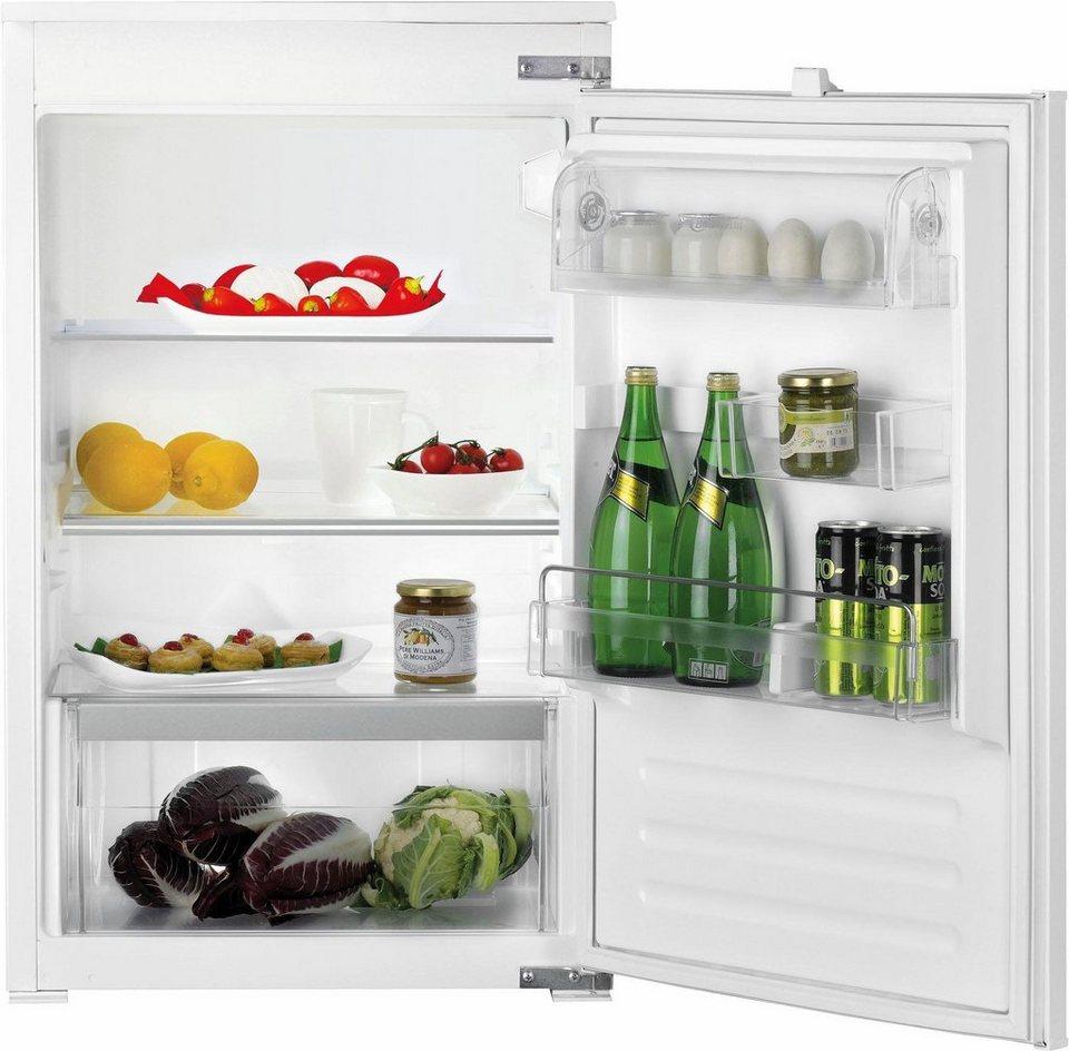 Bauknecht integrierbarerer Einbaukühlschrank KRIE 1000, A++, 87,3 cm hoch in weiß