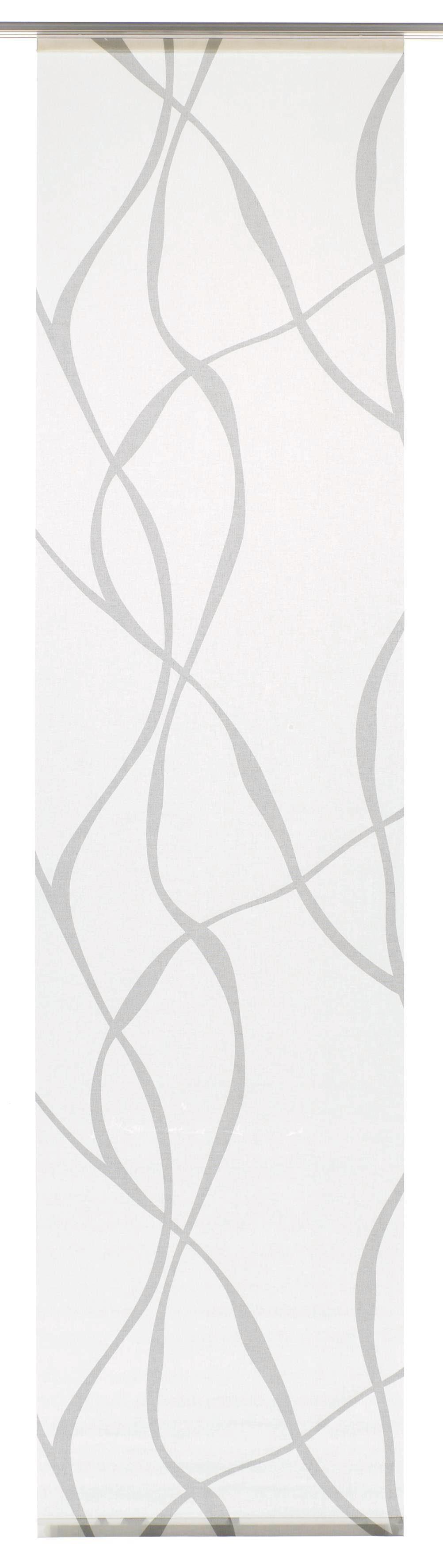 Schiebegardine, Gardinia, »Wave«, waschbar, 60 cm breit (1 Stück ohne Zubehör)