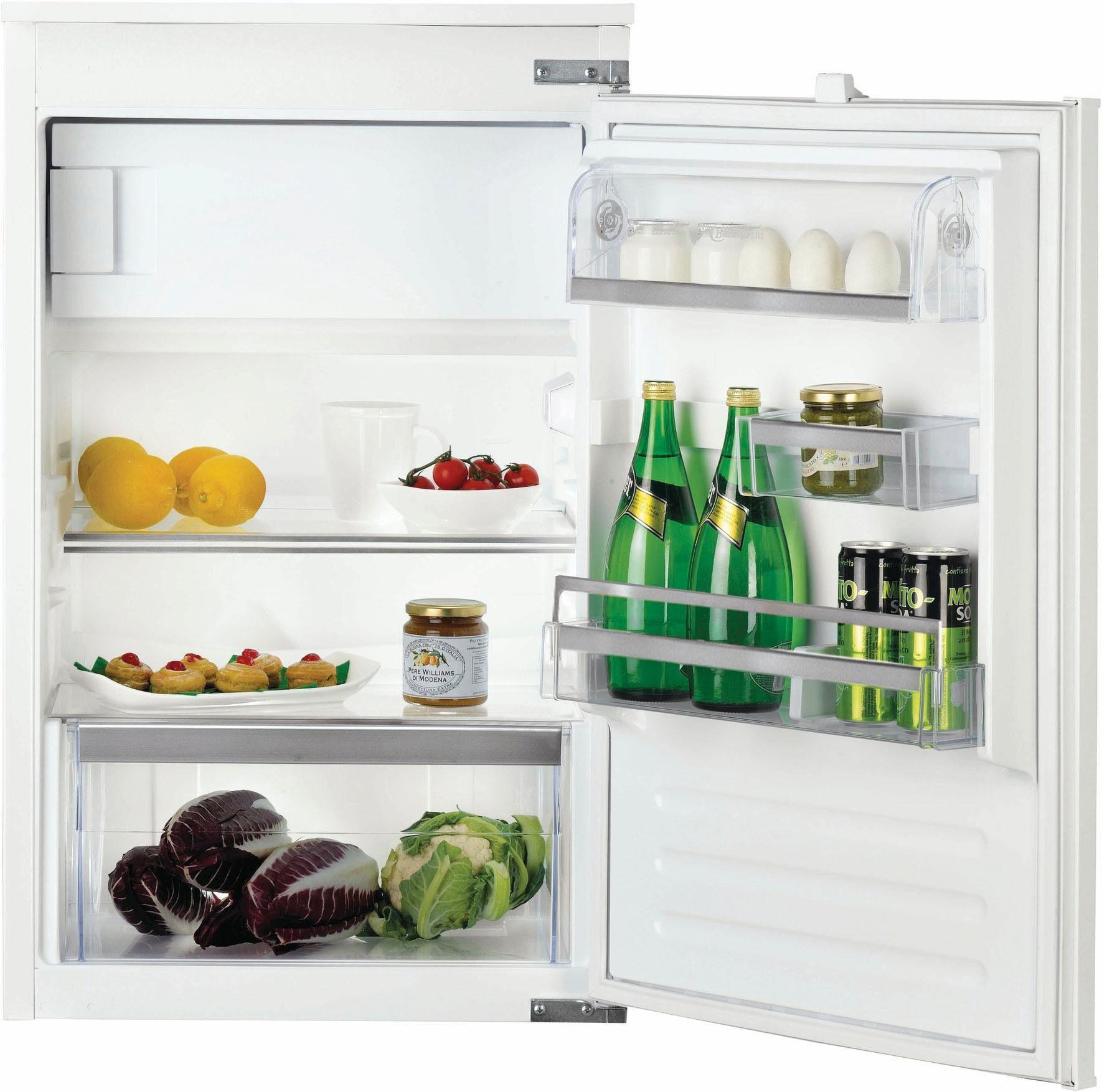 Bauknecht integrierbarerer Einbaukühlschrank mit Gefrierfach KVIE 4885, A+++, 87,3 cm hoch