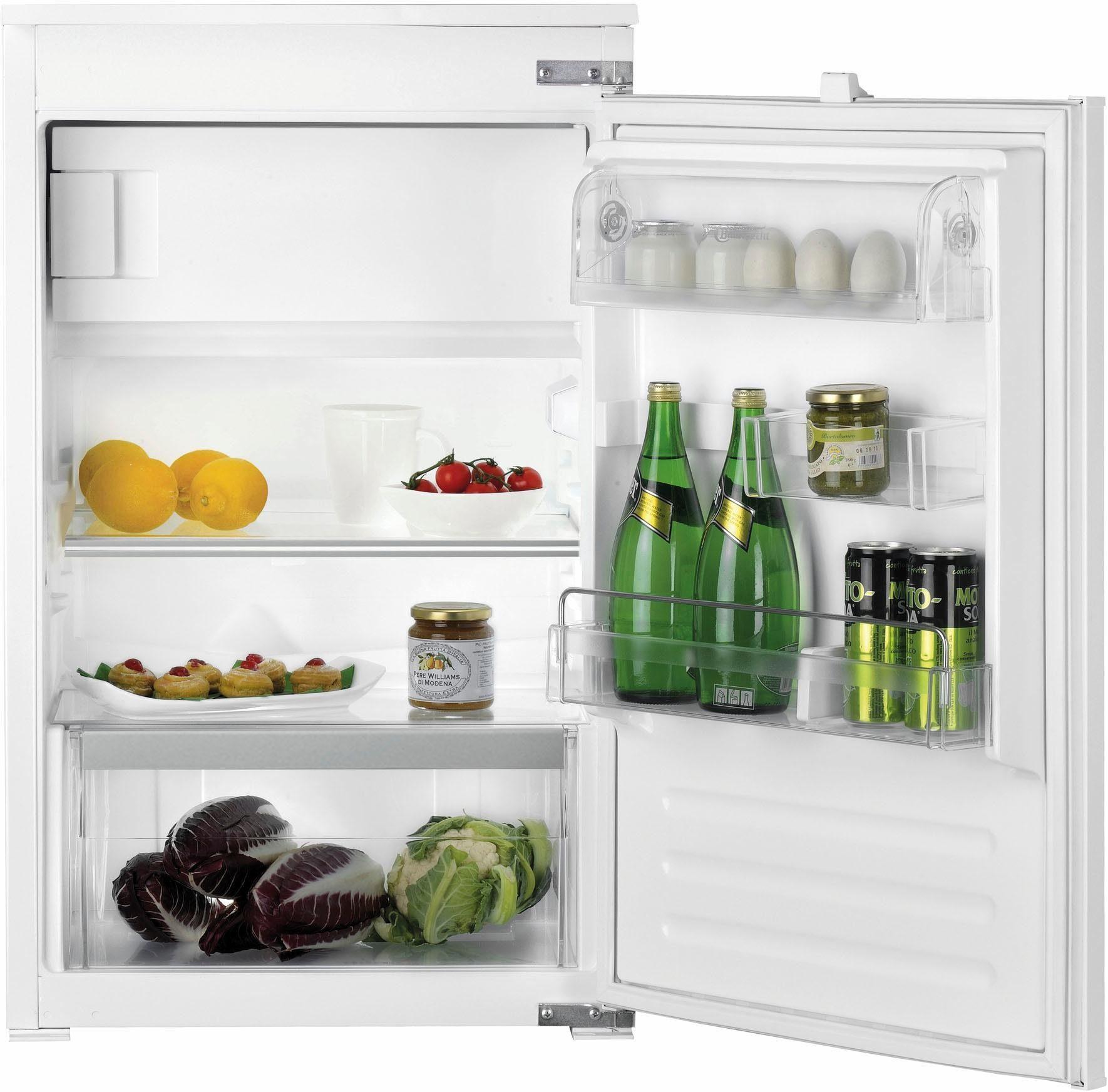 Bauknecht integrierbarerer Einbaukühlschrank mit Gefrierfach KVIE 1000, A++, 87,3 cm hoch